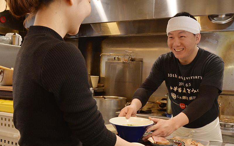 中華蕎麦 とみ田 採用サイト|働くスタッフの声